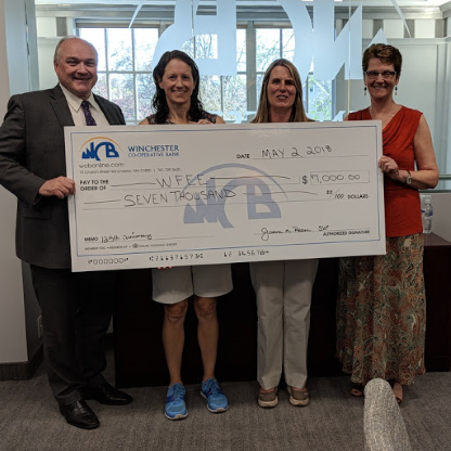 WCB Donation To WFEE